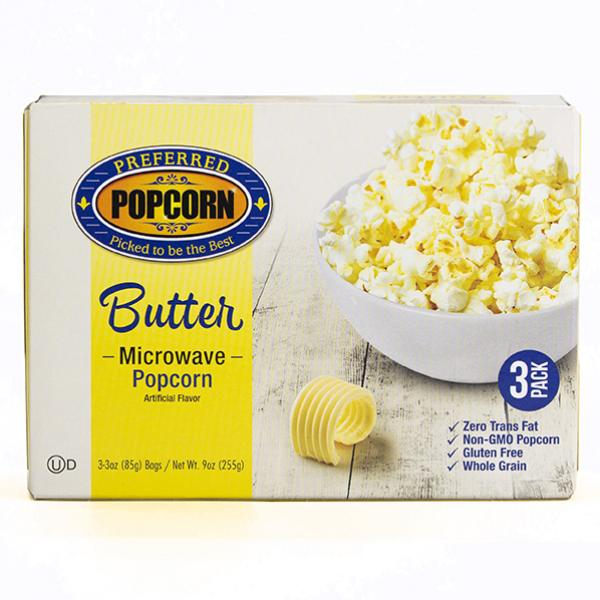 Image for Microwave Butter Popcorn
