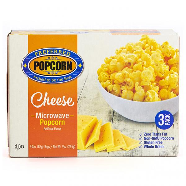 Image for Microwave Cheese Popcorn