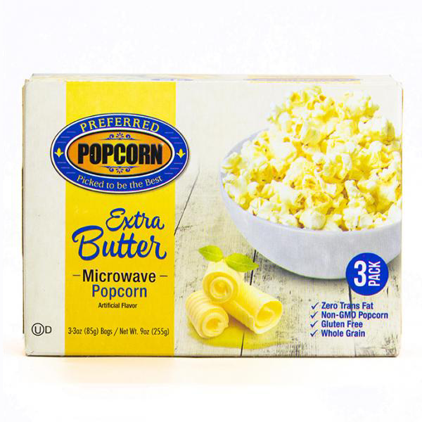 Image for Microwave Extra Butter Popcorn