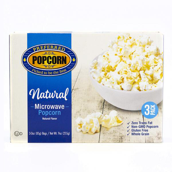 Image for Microwave Natural Popcorn