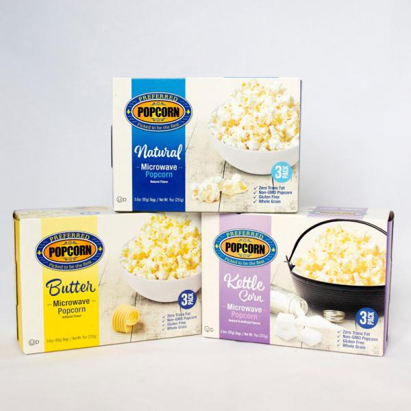 Image for Microwave Popcorn Variety Packs